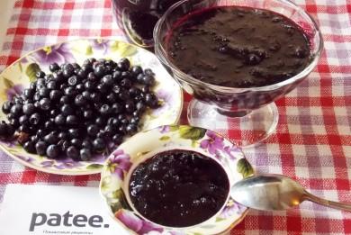 Рецепт Джем из черники