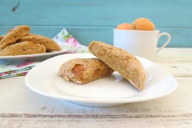 Рецепт Абрикосовое печенье с апельсиновой глазурью