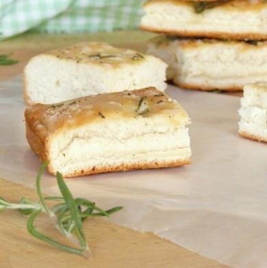 Рецепт Фокачча со свежей зеленью