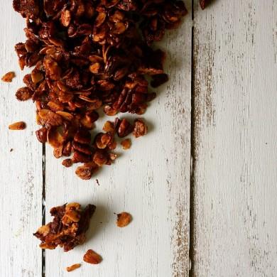 Рецепт Гранола с пеканом и шоколадом