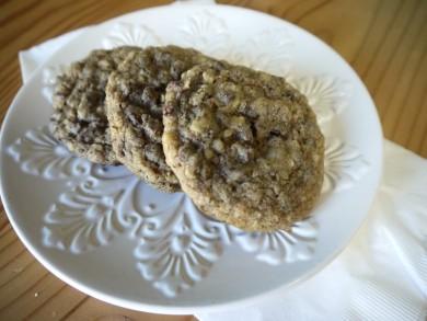 Рецепт Ореховое печенье с шоколадом