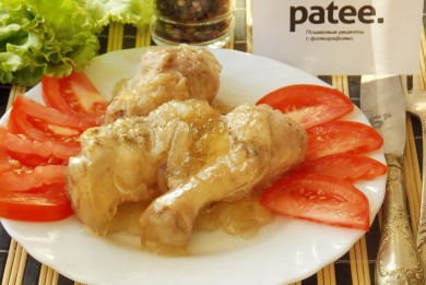 Рецепт Курица в банке с желе