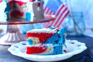 Рецепт Торт американский флаг