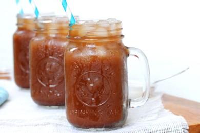 Рецепт Холодный кофе с молоком