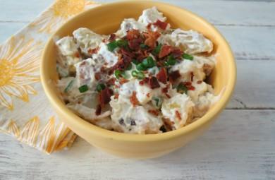 Рецепт Картофельный салат с беконом