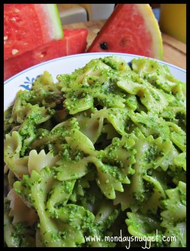 Рецепт Песто из шпината с рукколой