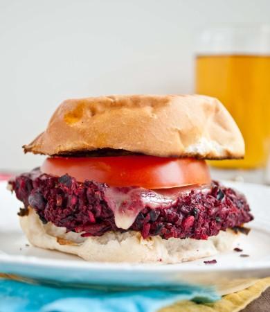Рецепт Сэндвичи с вегетарианскими бургерами