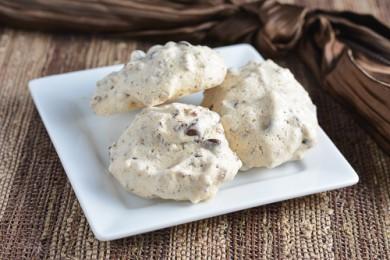 Рецепт Безе с пеканом и шоколадом
