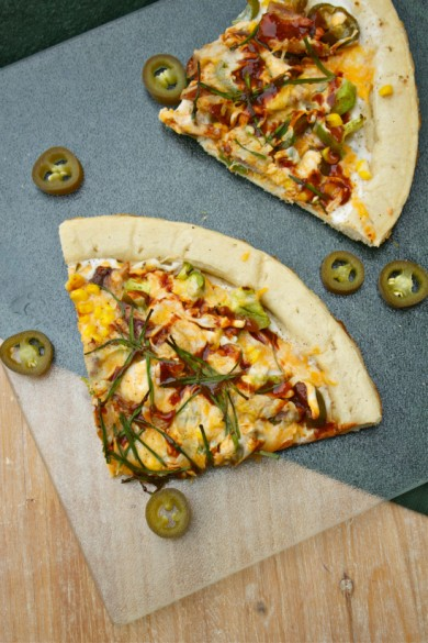 Рецепт Пицца с курицей и овощами