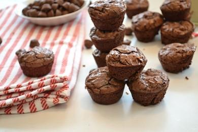 Рецепт Шоколадно-арахисовые кексы