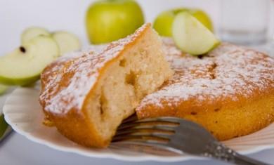 Рецепт Манно-яблочный пирог