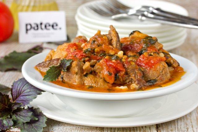 Мясо по итальянски пошаговое