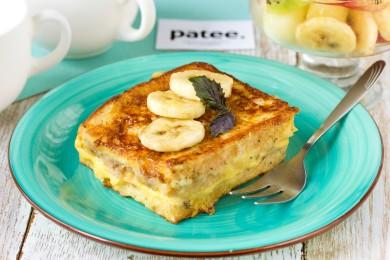 Рецепт Тосты с сырно-банановой начинкой