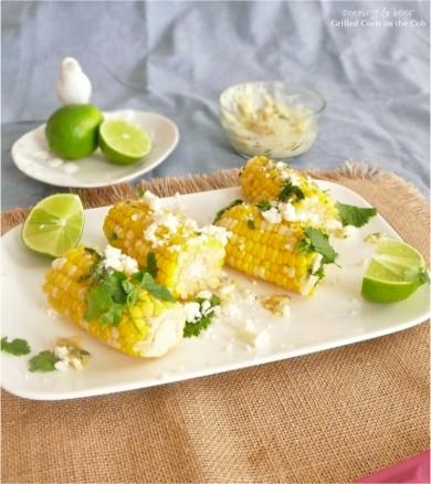 Рецепт Жареная кукуруза с сыром и зеленью