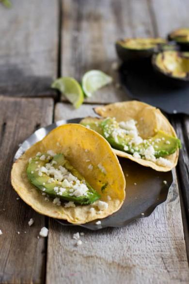 Рецепт Такос с жареным авокадо