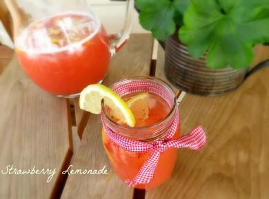 Рецепт Клубничный лимонад