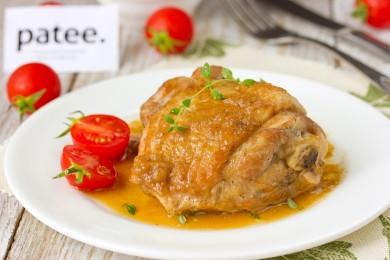 Рецепт Жаркое из курицы по-еврейски