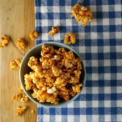 Рецепт Карамельный попкорн