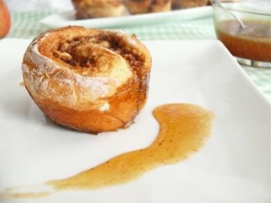 Рецепт Яблочные маффины с корицей