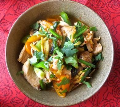 Рецепт Имбирная курица по-тайски