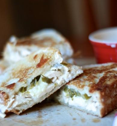 Рецепт Сэндвичи с курицей и сыром