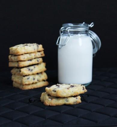 Рецепт Апельсиновое печенье с шоколадом