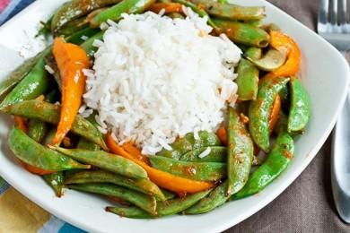 Рецепт Зеленая фасоль в азиатском соусе
