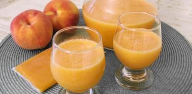 Рецепт Диабетический персиковый сок