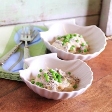 Рецепт Сморчки в сливочном соусе