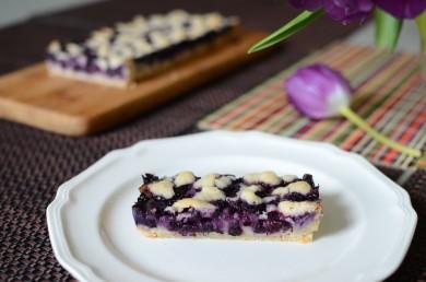 Рецепт Черничный тарт