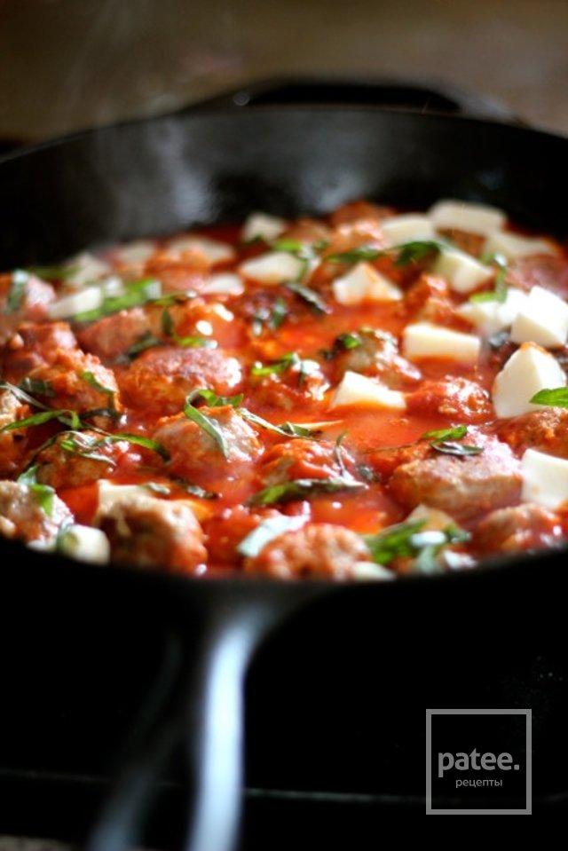 Фрикадельки из индейки в томатном соусе рецепт