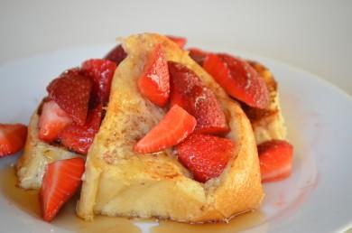 Рецепт Французский тост с клубникой