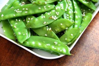 Рецепт Зеленая фасоль с кунжутом
