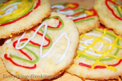 Рецепт Апельсиновое печенье с корицей