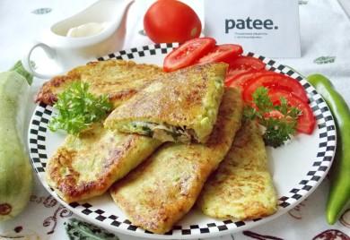 Рецепт Кабачковые чебуреки с мясом