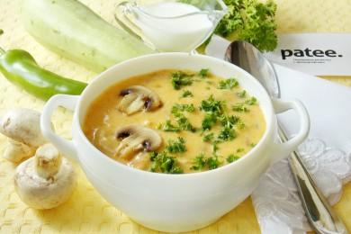 Рецепт Суп  с курицей, сливками и грибами