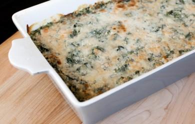 Рецепт Гратен со шпинатом