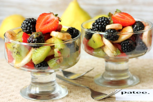 Фруктовые десерты в креманках рецепты