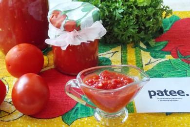 Рецепт Морс томатный