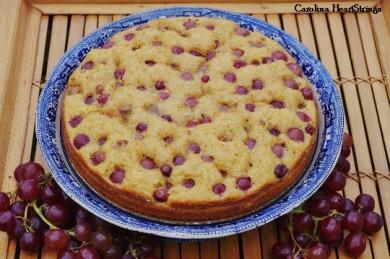 Рецепт Тосканский пирог с виноградом