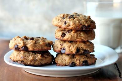 Рецепт Овсяное печенье без муки