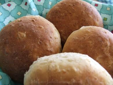 Рецепт Сладкий овсяной хлеб (или булочки)