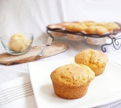 Рецепт Тыквенные кексы с медовым маслом