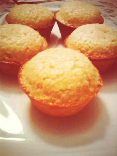 Рецепт Кокосовые кексы с ананасами