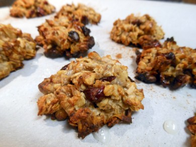 Рецепт Овсяное печенье с бананами