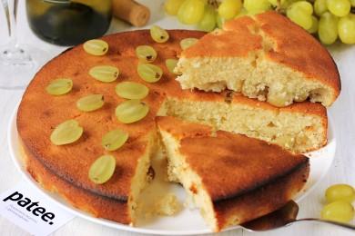 Рецепт Винный пирог с виноградом