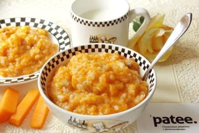 Рецепт Тыквенная каша с рисом и изюмом