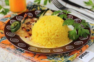 Рецепт Золотистый рис