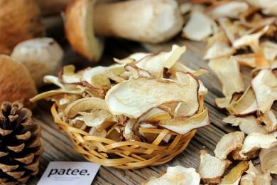 Рецепт Как сушить белые грибы в духовке