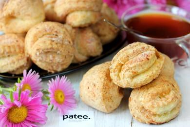 Рецепт Творожное печенье с сахаром